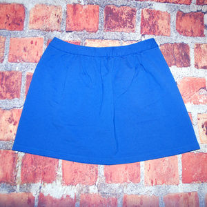 J. Crew mini skirt Royal blue size 6 style b4102